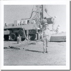 Rich at Rig Site 1975